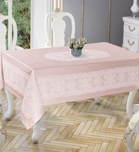 Скатерть Tropik home Priencly Pink 5698-7 фото