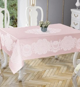 Скатерть Tropik home Royal Pink 5699-4 фото