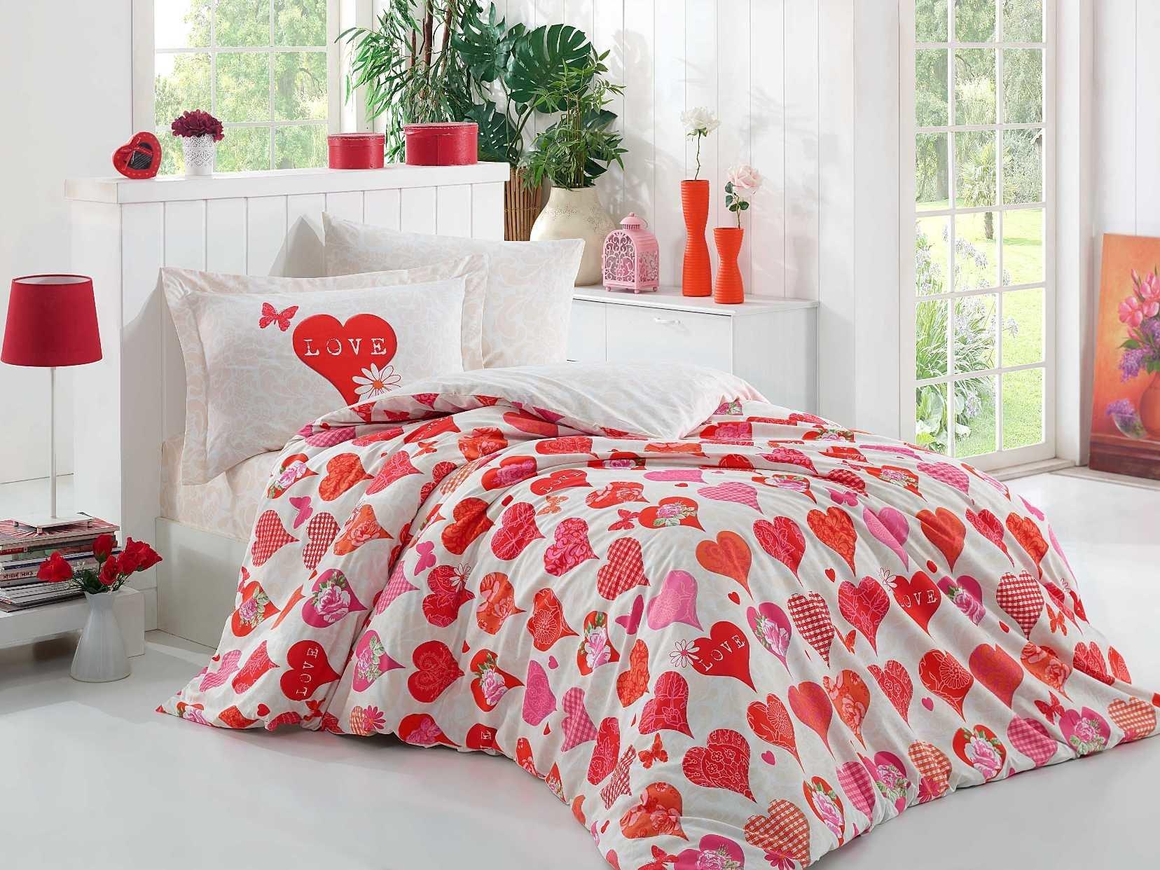 Романтична постільна білизна на День святого Валентина 6aa286d796c24