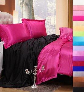 Комплект білизни Moka Textile Малинова-чорна фото 966e7be083c4c