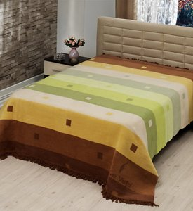 Плед Le Vele RAINBOW Green, 160 х 220 см