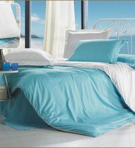 Комплект білизни Moka Textile бірюзово білий фото 864e3b9e6261e